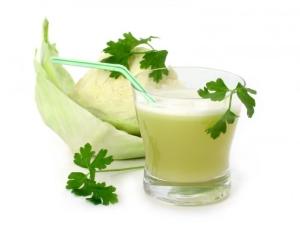 Капустный сок при лечении цирроза