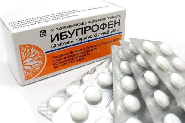 Ибупрофен от бартолинита